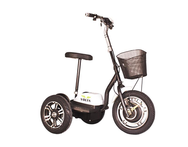Volta VT3 elektrikli üç tekerlekli kişisel ulaşım aracı Üçerler Motor'da